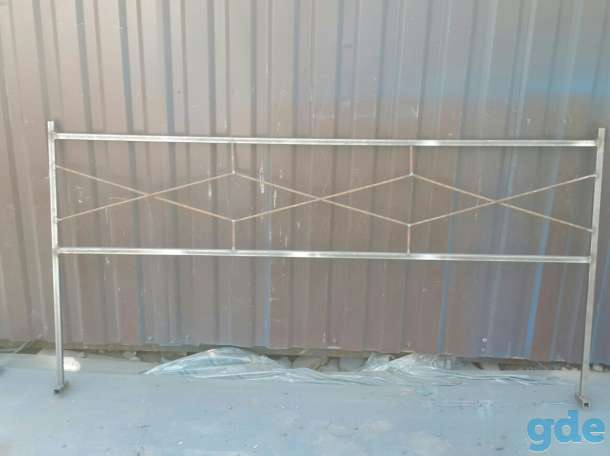 Ограда ритуальная металл, фотография 5