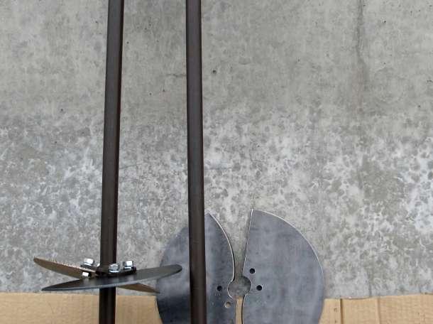 Бур строительный ручной для земли, фотография 3