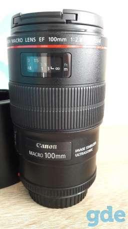 Продам объектив Canon MACRO 100 mm, фотография 1