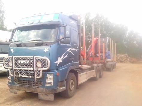 Услуги по превозке круглого леса и пиломатериаллов, фотография 1