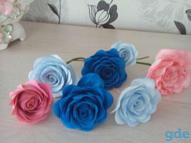 цветок роза из фоамирана, фотография 1
