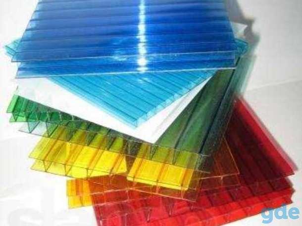 Поликарбонат сотовый 2.5; 3; 3.5; 4; 6; 8; 10 мм. Прозрачный и цветной!, фотография 3