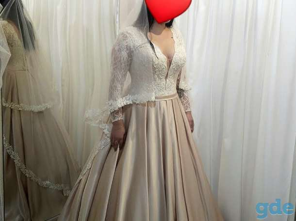 Продам свадебное шикарное платье, фотография 1