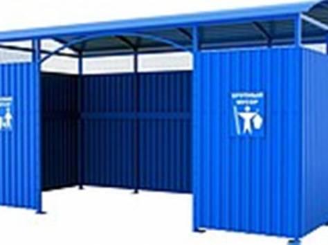 Площадка (навес) для мусорных контейнеров, фотография 1