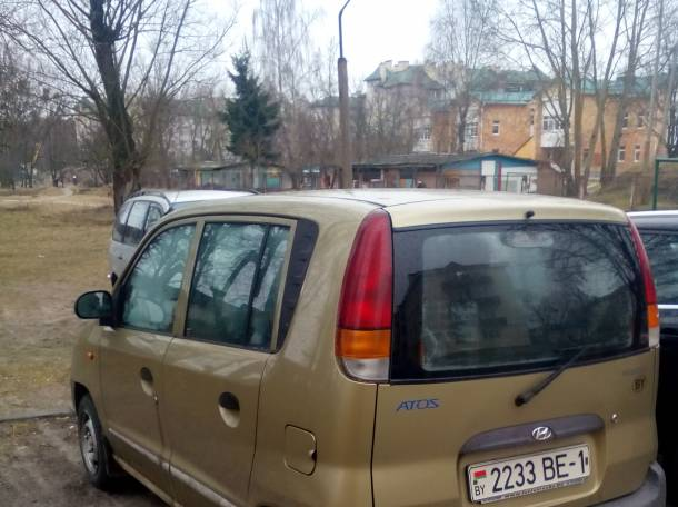 продам хёндай атос 1999, фотография 1
