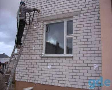 Утепление домов путём заполнения межстеновых пустот жидким не горючим пенопластом ПЕНОТЕК-НГ, фотография 5