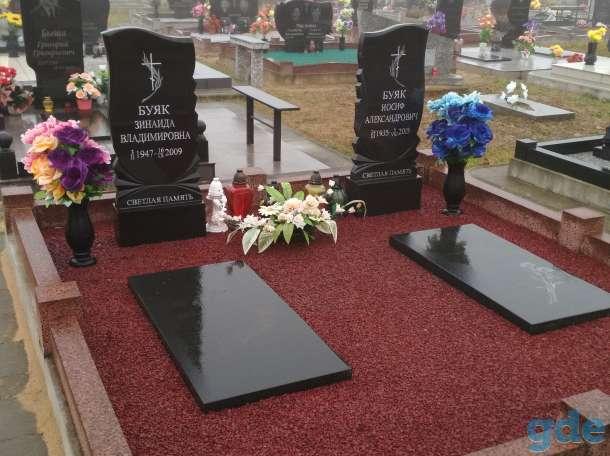 Благоустройства мест захоронения, фотография 9