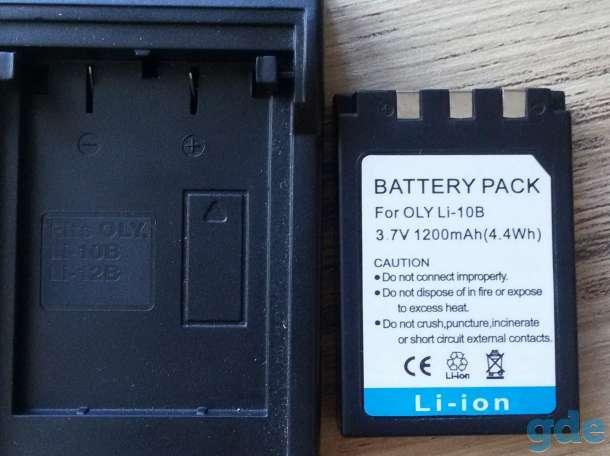 Аккумуляторная батарея для фотокамеры OLYMPUS,  новая, фотография 3