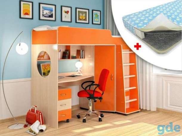 Прекрасная кровать-чердак для ребёнка в Столбцы, фотография 1