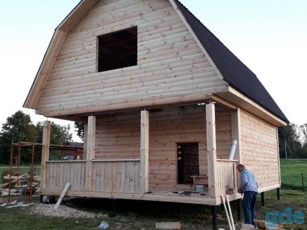 Построим Дом из профилированного бруса проект Алексей 6х6м в Калинковичах, фотография 4