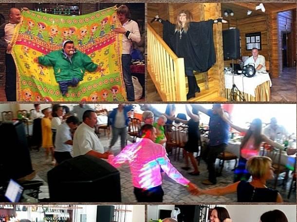 Ведущий супер, конкурсы отпад, хитовая дискотека, караоке под баян, богатый реквизит и красочные костюмы,, фотография 6