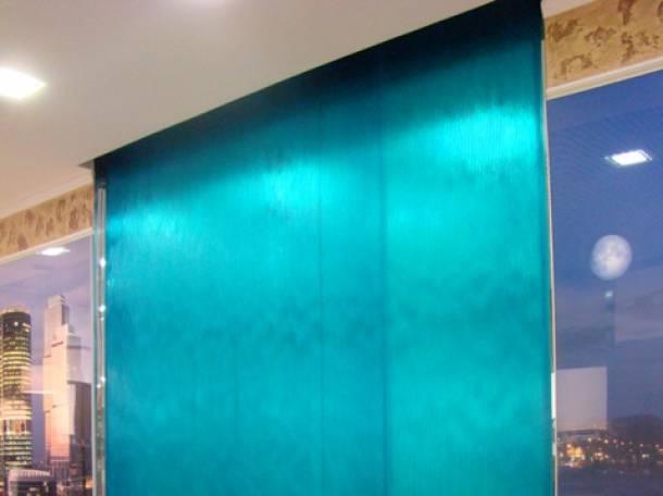 Интерьерные водопады по стеклу, фотография 9