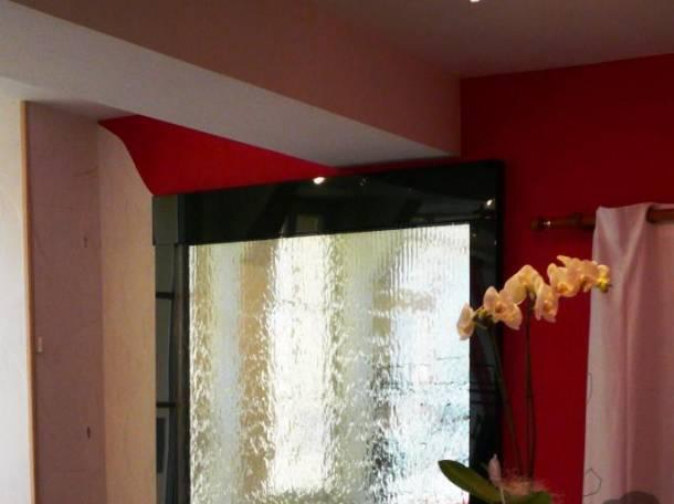 Интерьерные водопады по стеклу, фотография 10