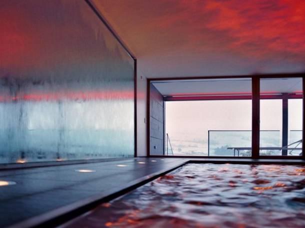 Интерьерные водопады по стеклу, фотография 12