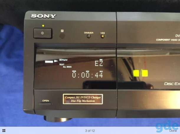 DVD-Player на 301 диск Sony DVP-CX860, фотография 2