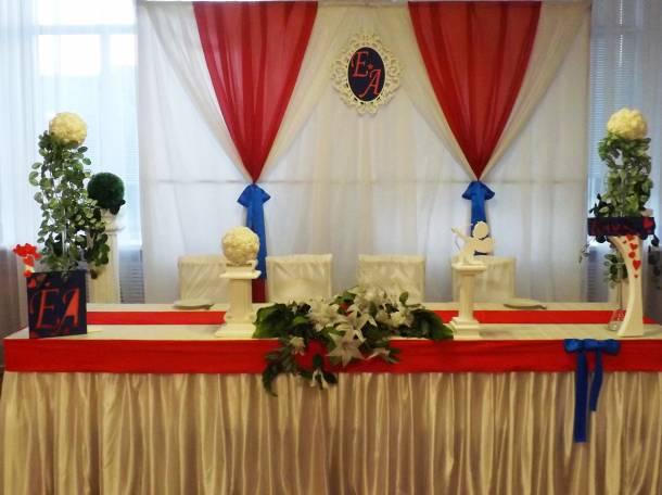 оформление свадебного зала в Кировске, фотография 2