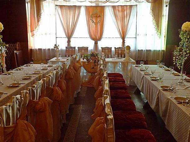оформление свадебного зала в Кировске, фотография 3