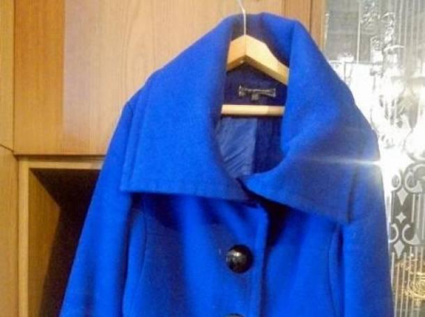 Пальто с ремнем (весна-осень), размер 42-44, фотография 2