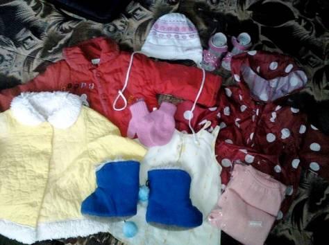 продам детские вещи и обувь на ребенка до 1 года, фотография 1