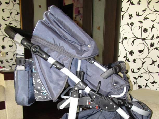 продам модульную коляску 3в1, 3в1 Krasnal saturn2, фотография 7