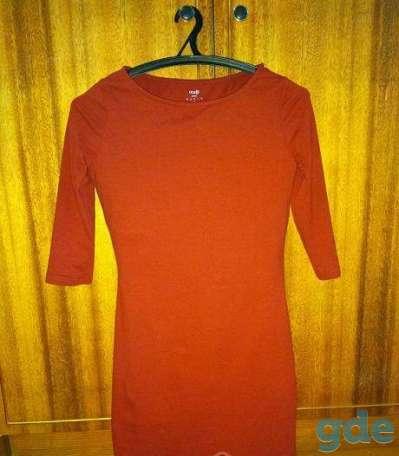 Платье бордовое с рукавом, фотография 2