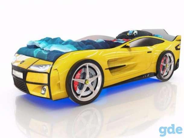 Крутая кровать в виде авто Kiddy в Дисне, фотография 1