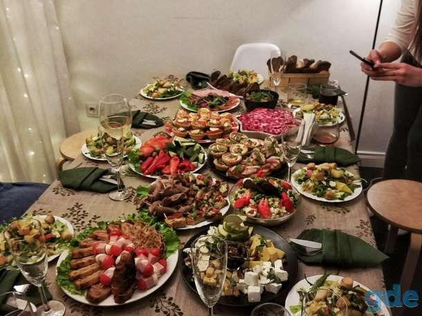 Обслуживание (повар, официант) на корпоратив, банкет, свадьбу, фотография 2