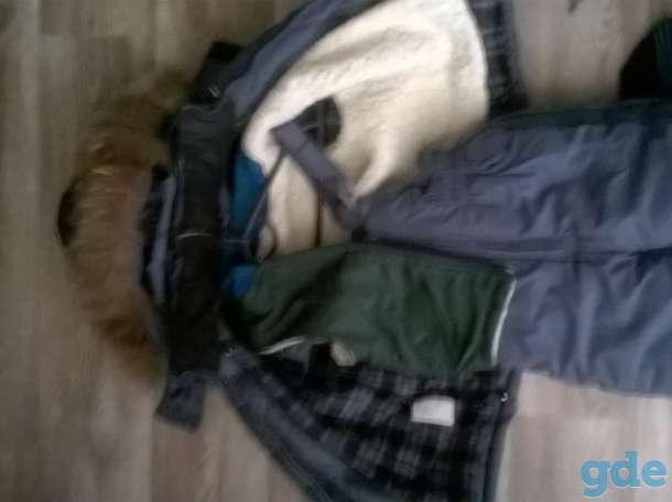 Комбинезон зимний для мальчика 94-102см, фотография 3