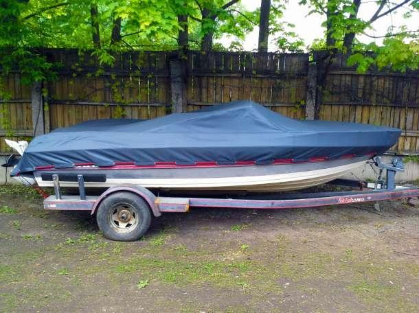 Защитные чехлы на лодки, катера из различных видов материалов, фотография 1