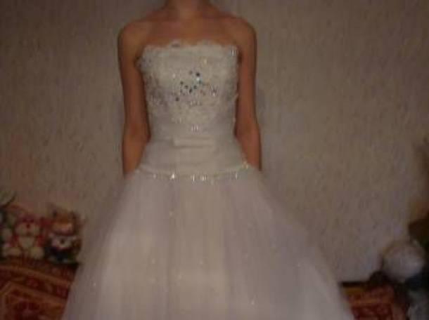 Свадебное платье 44-48, фотография 7