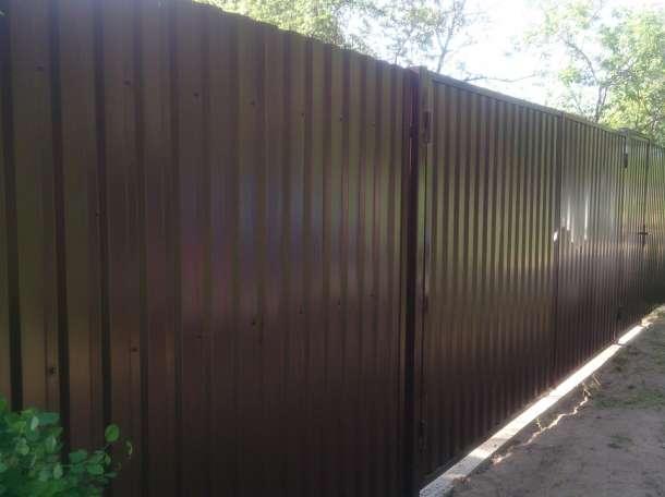 Забор Из Металлопрофиля Под Ключ В г.Копыль и Минской области!Гарантия!, фотография 3
