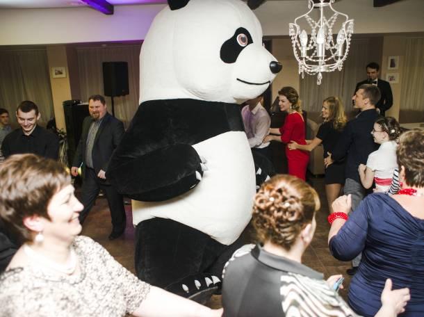 Танцующая гигантская ПАНДА на праздники, фотография 2