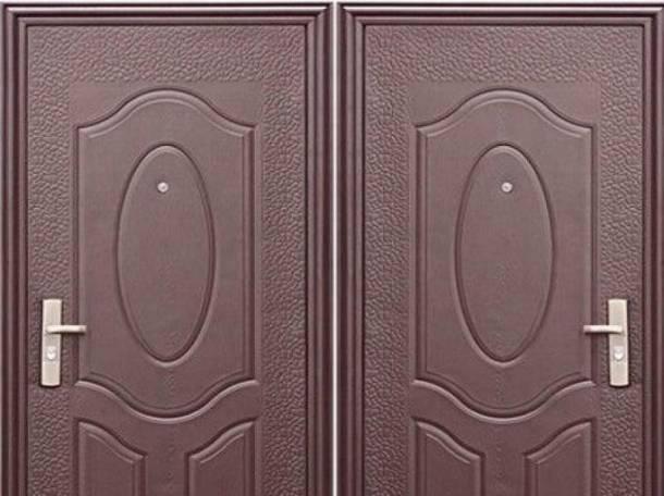 Двери металлические входные, фотография 1