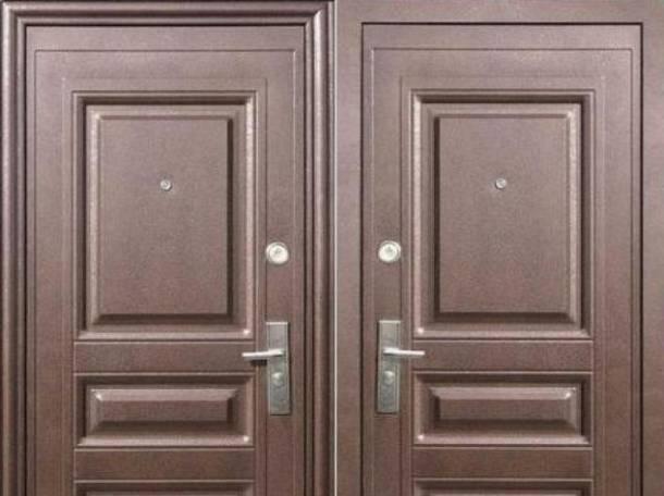 Двери металлические входные, фотография 4