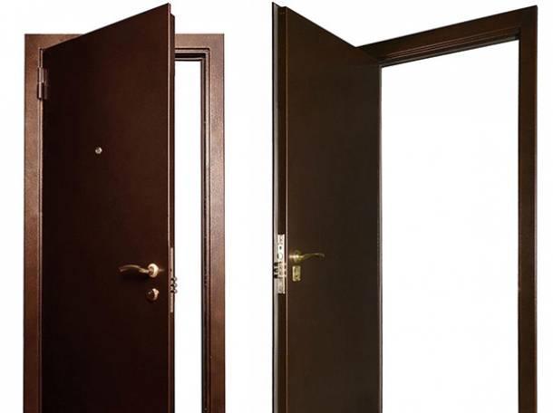 Двери металлические входные, фотография 5