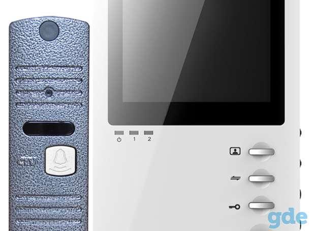 Видеодомофоны CTV: мониторы, вызывные панели, комплекты, фотография 7