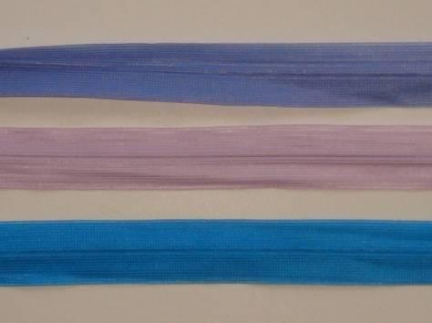 МОЛНИЯ 20 СМ, цвет синий, розовый, фиолетовый потайная, фотография 1