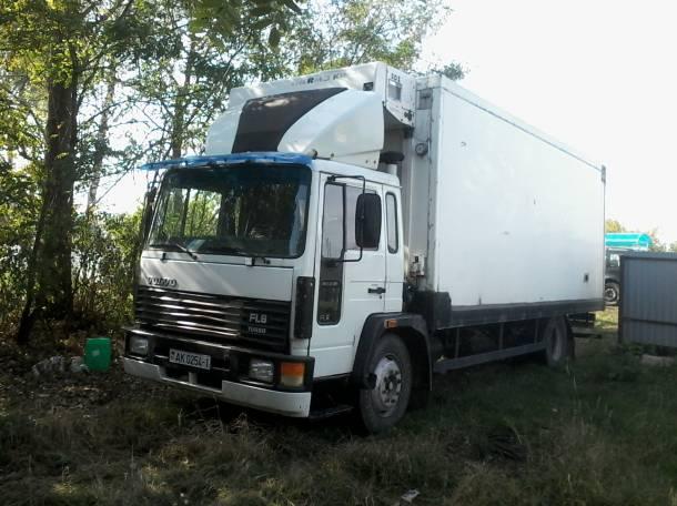 грузовик Volvo FL6 изотерма, рефрижератор, фотография 1