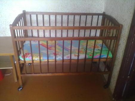 Детская кроватка, фотография 1