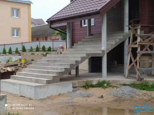 Бетонные лестницы, фотография 1
