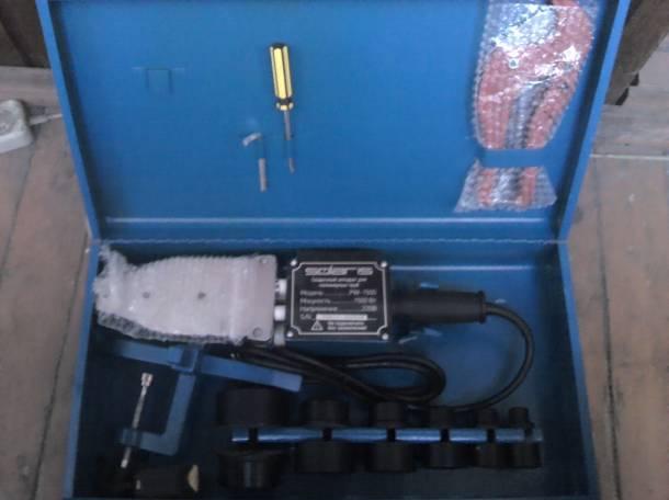 Сварочный аппарат для полимерных труб., фотография 1