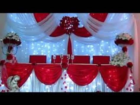 украшение зала на свадьбу, фотография 9