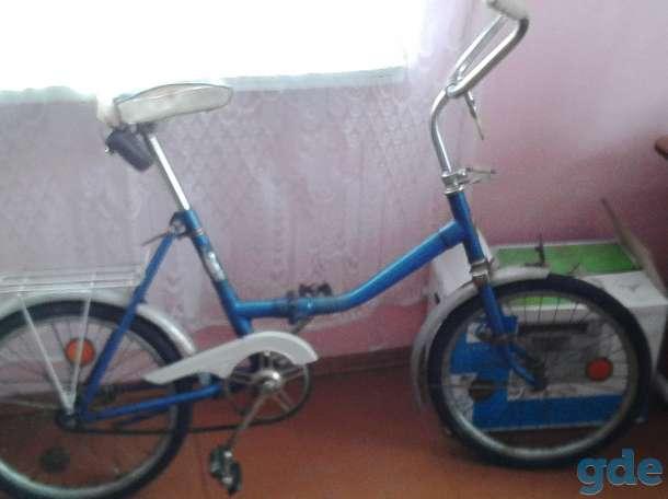 Продам складной велосипед, фотография 1