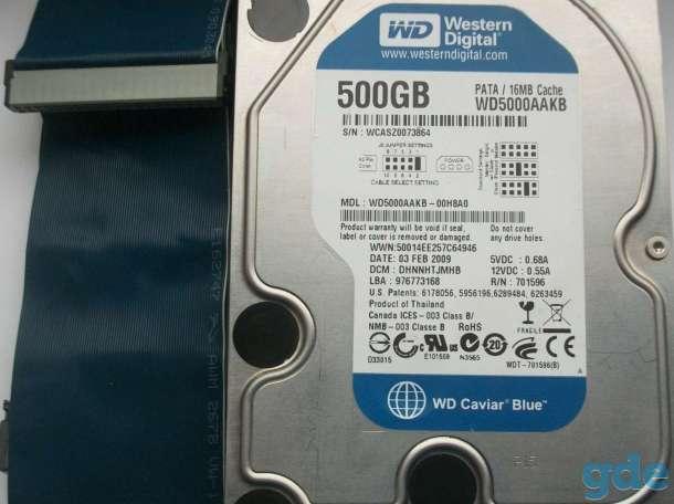 Жёсткий диск Western Digital 500Gb, фотография 1
