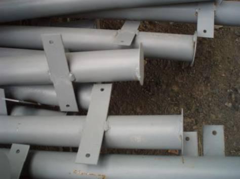 Столбы металлические для забора., фотография 1