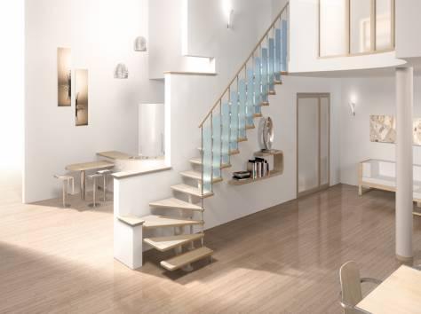 Модульные межэтажные лестницы от производителя в Кричеве, фотография 4