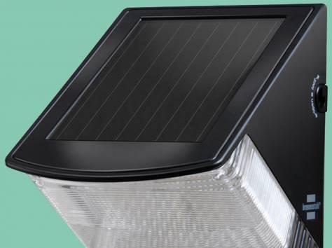 Солнечный светодиодный настенный светильник  SOL 04, фотография 1