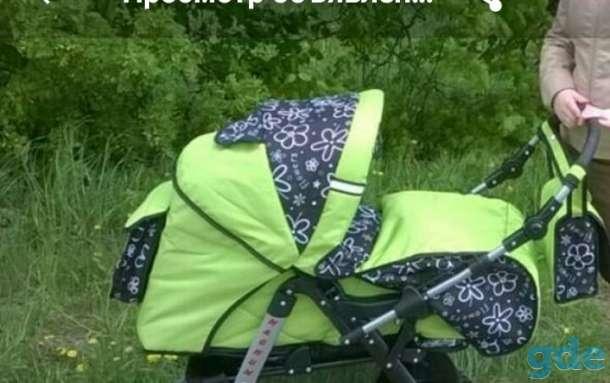 Коляска Baby Lux с автокреслом, фотография 1