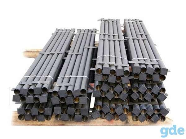 Металлические столбы для забора с доставкой в Мядель, фотография 1