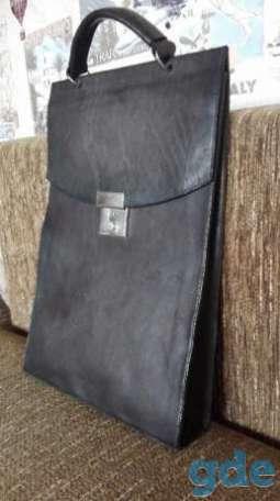 Сумка-портфель кожаная, фотография 1
